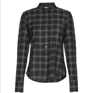 Helmut Lang Flannel Cashmere Shirt